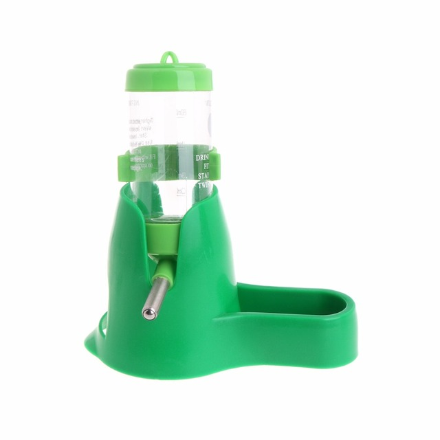 3 in 1 Pet Hamster Water Bottle With Food Container 3