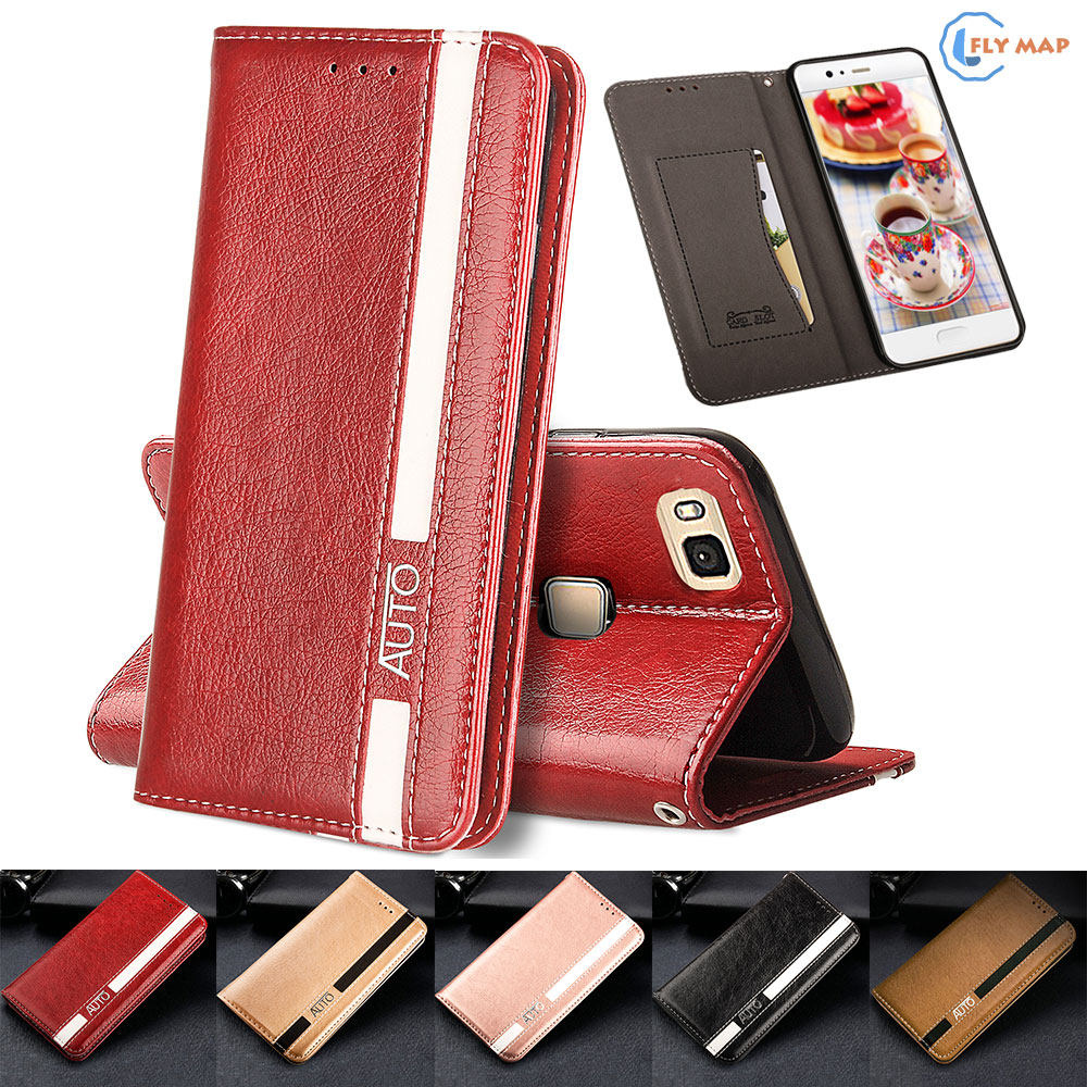 Flip Case for Huawei P9 Lite P9Lite VNS-L21 VNS-L31 Business Wallet Leather Cover Phone Case for Huawei P 9 Lite VNS L31 L21 Bag ...