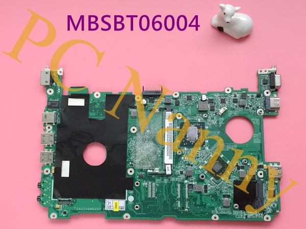 ФОТО MBSBT06004 DA0ZH9MB6D0 For Acer Aspire one 521 laptop Motherboard Neo II K125 1.7GHz DDR3 ATI Mobility Radeon HD 4225