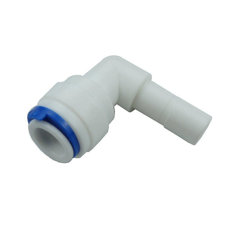 Stem Elbow Fitting Connection Parts For Water Filters / RO System 1/4