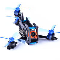 Awesome Dragonfly 110 Y4 110mm RC FPV Racing Drone With F3 OSD BLheli_S 10A 25mW 48CH 600TVL FPV Multirotor Quadcopter