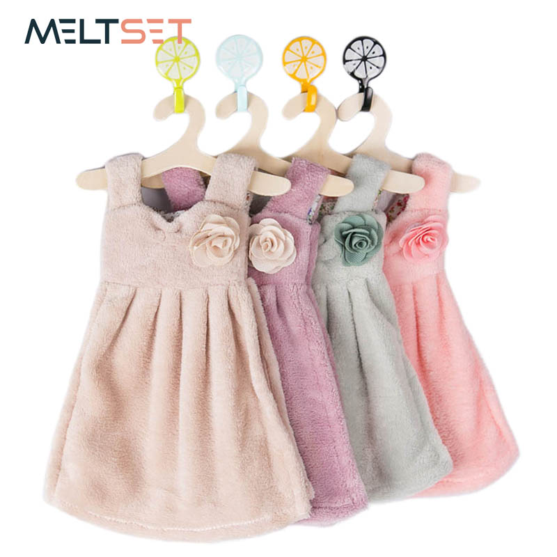 Meltset Hand Towel For Kids Kitchen Cleaning Cloth For Bathroom Baby Not Cotton