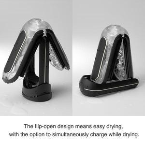 Image 4 - FLIP ZERO EV (Electronic Vibration) Black TENGA Aircraft Cup Male Masturbation Vibrator Sex Shop Adults Toys Stimulate The Dildo