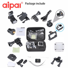 Aipal for Go Pro Accessories Action Camera Case Kit Set For Gopro Hero Aipal H9/H9R/A1 Sport Camera Accessories.