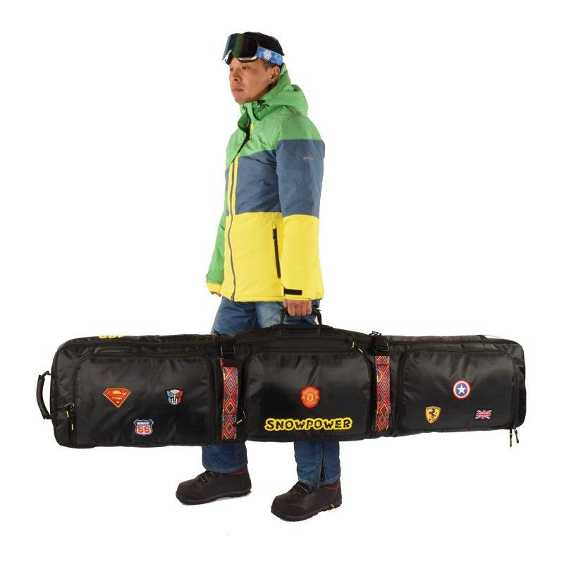 2019 nouveau sac de Ski 146 cm 156 cm 166 cm 180 cm sac de Snowboard homme femmes Sports de plein air sac à dos sac à bandoulière unique sac de Ski - 6