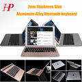 HOPE New Arrival 7mm Thickness Aluminium Alloy Wireless Bluetooth Keyboard For Apple iPad Pro Gold / Silver / Grey Colors