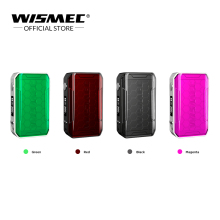 Original WISMEC SINUOUS V200 TC Box Mod Output 200W Wattage By VW/TC/TCR Mode 510 Thread Electronic Cigarette mod