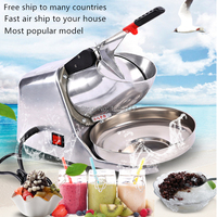 18 Free air ship to your home Commercial Ice crusher Semi Automatic ice crushers Electric Ice shavers 220V Ice Planer