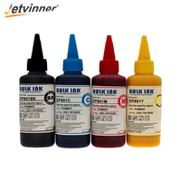 Jetvinner 4 color Pigment Ink Universal Refill Ink for Inkjet Printers for Epson R250 L350 L355 L362 L366 L550 L555 L566 Printer