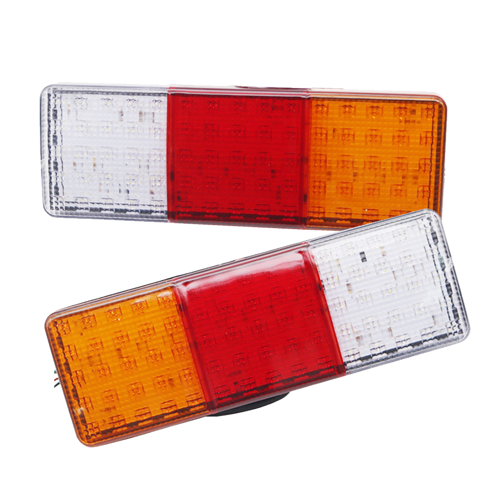 YAIT 75 LEDS 12V 24V Trailer Truck Rear Lights Brake Stop Tail Turn Indicator LED Lamps For Car Trailers Trucks Utes Boats image
