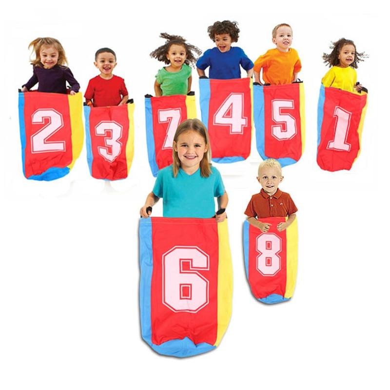 Udendørs Sport Konkurrence Jump Bag Balance Træning Toy Jump Games Sprøjte taske Kangaroo Hop Educational Legetøj For Kids