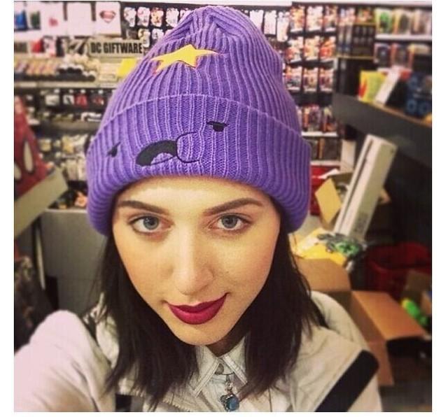 Beanie Modno 2016 sombrero Nueva Moda y Colección Precioso y Lindo Sombrero nuevo modelo 2016 Lumpy Space Princess sombrero