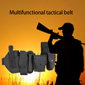 10pcs/set Multifunctional tactical Waist Belt Tactical Thick Security Guard Waist Strap Waistband Black
