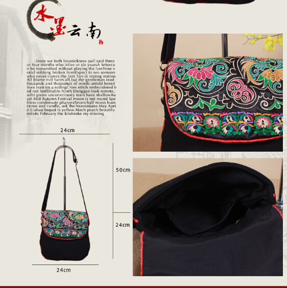 Vintage Hmong Tribal étnica tailandesa india Boho shoulder bag ...