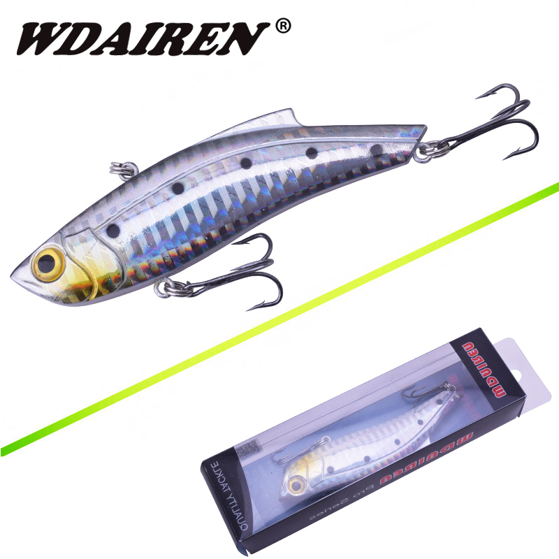 WDAIREN Boxed Sinking Fishing lures 9cm 26.5g VIB bait ...