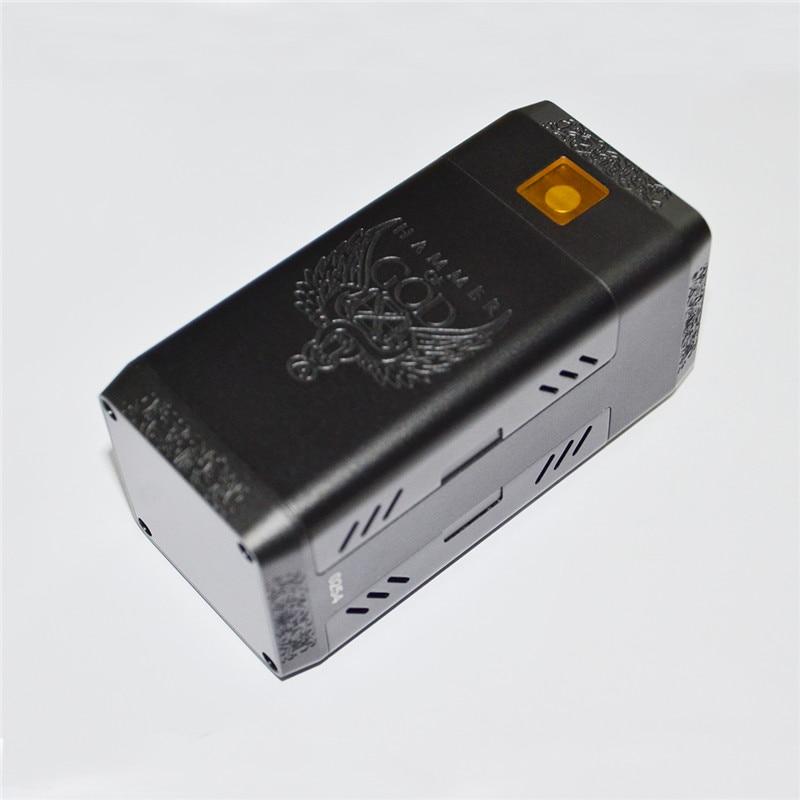 Cigarette électronique marteau de dieu V4 boîte Mod Vape mécanique Mod fit 4*21700 batterie énorme puissance pour Mech RDA RTA RDTA MODs