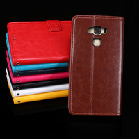 For Asus ZC553KL Case Business Style Stand Flip Leather Wallet Phone Coque Cover For Asus Zenfone
