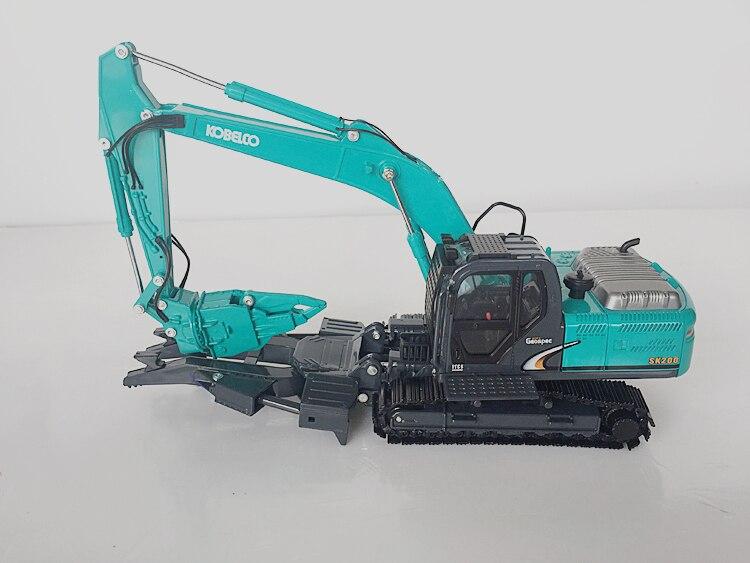 1/43 kobelco sk200 dynaspec 멀티 철거 건설 기계 다이 캐스트 모델