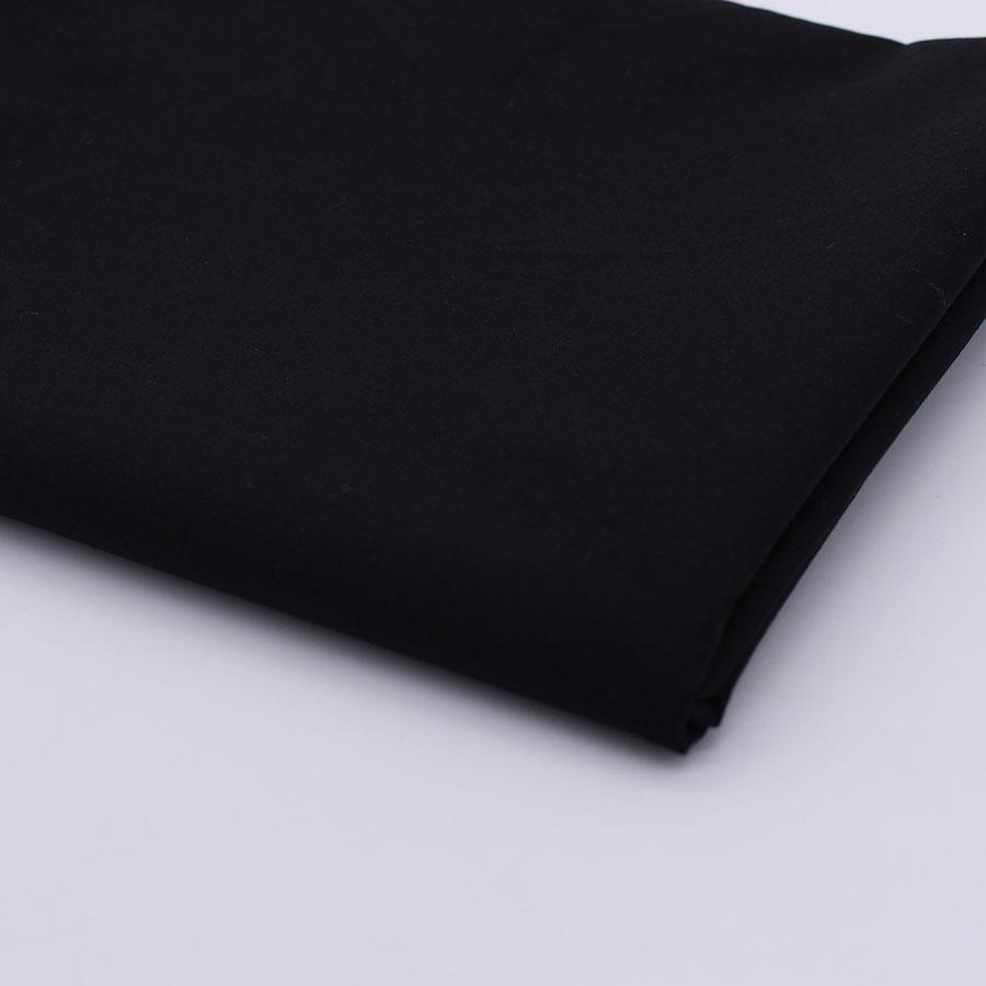 Καθαρό μαύρο βαμβακερό ύφασμα για - Τέχνες, βιοτεχνίες και ράψιμο - Φωτογραφία 3
