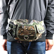 Fishing Tackle Bag Army Green Camouflage 420D PVC Multi-Purpose Pescaria Bag For Fly Fishing Accessories Backpack Tackle Bag