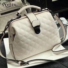 Women Handbag Genuine Leather Doctor Bag Womens