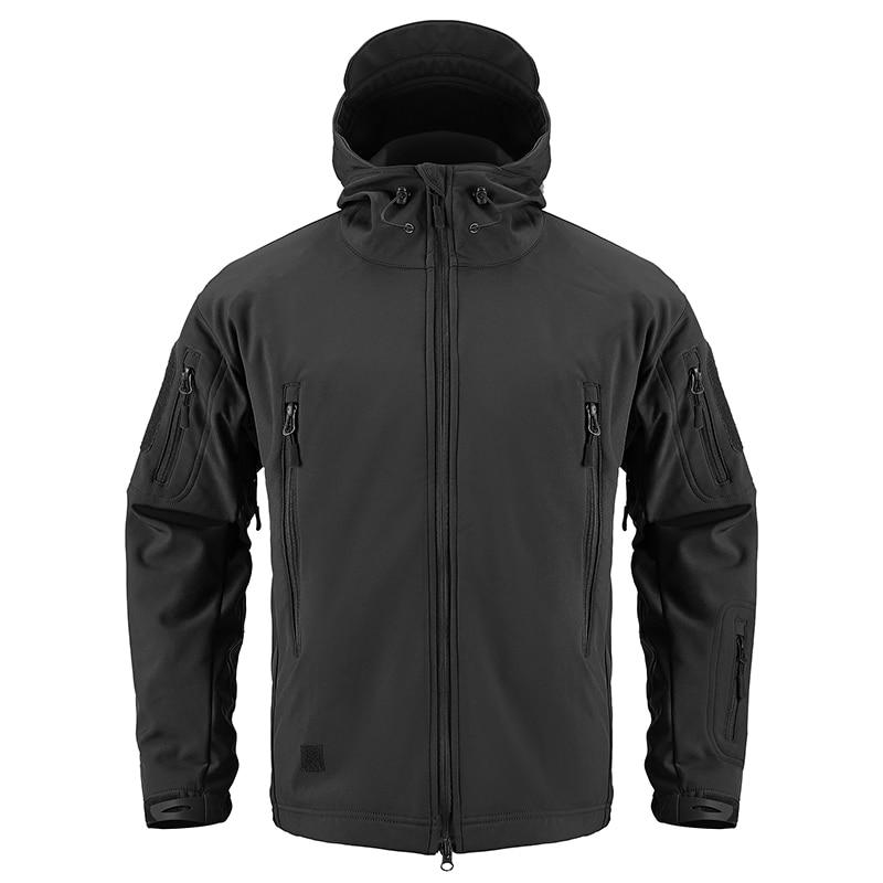 HTB1cccLKeuSBuNjy1Xcq6AYjFXaT - ReFire Gear Navy Blue Soft Shell Military Jacket Men Waterproof Army Tactical Jacket Coat Winter Warm Fleece Hooded Windbreaker