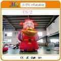 20FT высокий надувные китайский Бог богатства, надувные Бог Удачи