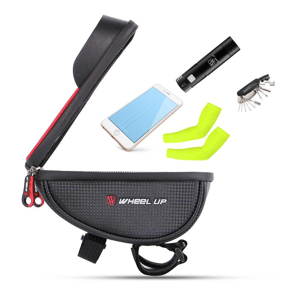 Водонепроницаемая велосипедная сумка на руль MTB для шоссейного велосипеда, велосипедная сумка на руль, 6,0 дюймов, велосипедная сумка, сумка для мобильного телефона