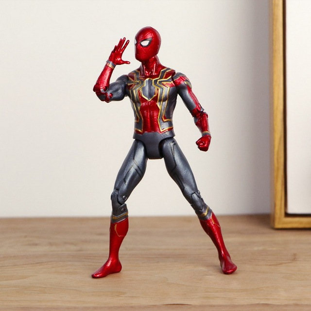 2018 Marvel Vingadores Brinquedos quente Infinito War3 Spiderman PVC Action Figure Collectible Modelo Toy Dolls Figuras de Super-heróis homem-Aranha