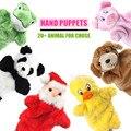 Títeres de mano de animales muñecas de mano suaves niños títeres de juguete para niños brinquedos Marionetes Fantoche juguetes educativos