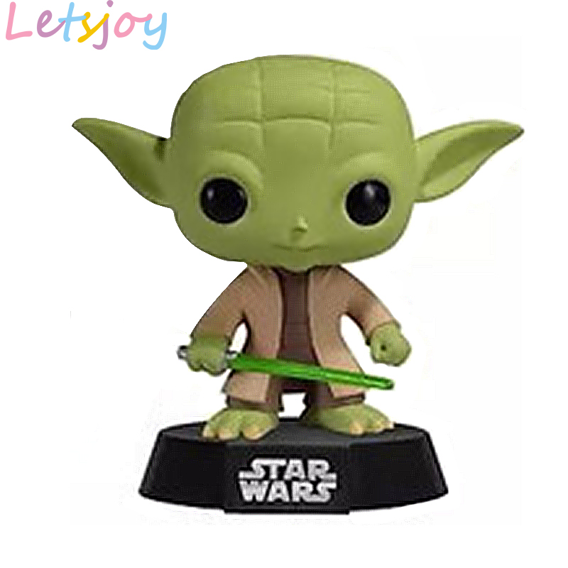 Vinyl Yoda Darth Vader Maul KYLO Ren 10cm Lovely Pop Kawaii Star Wars Stormtrooper Ewok Garage Kits Collection Squishy
