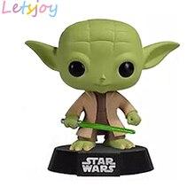 Vinyl Yoda Darth Vader Maul KYLO Ren 10cm lovely pop  kawaii Star wars stormtrooper ewok Garage Kits collection squishy