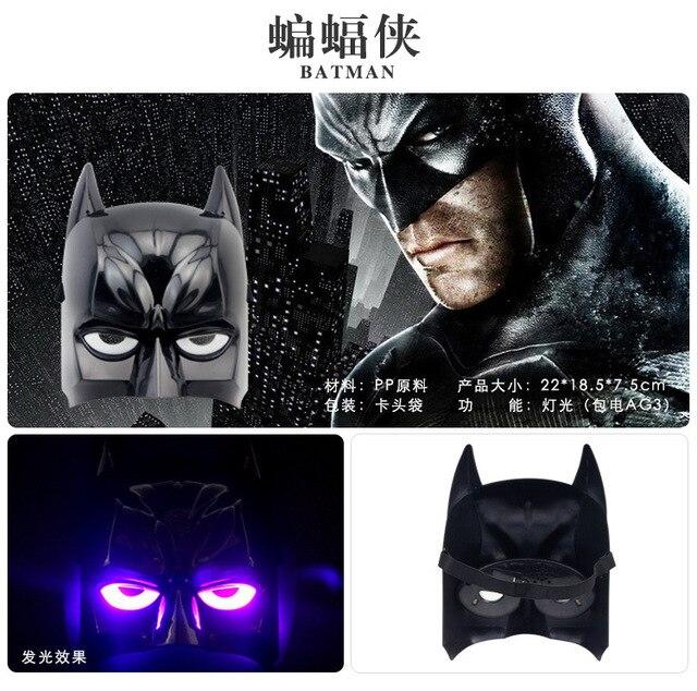 Children LED Glowing Superhero Masks