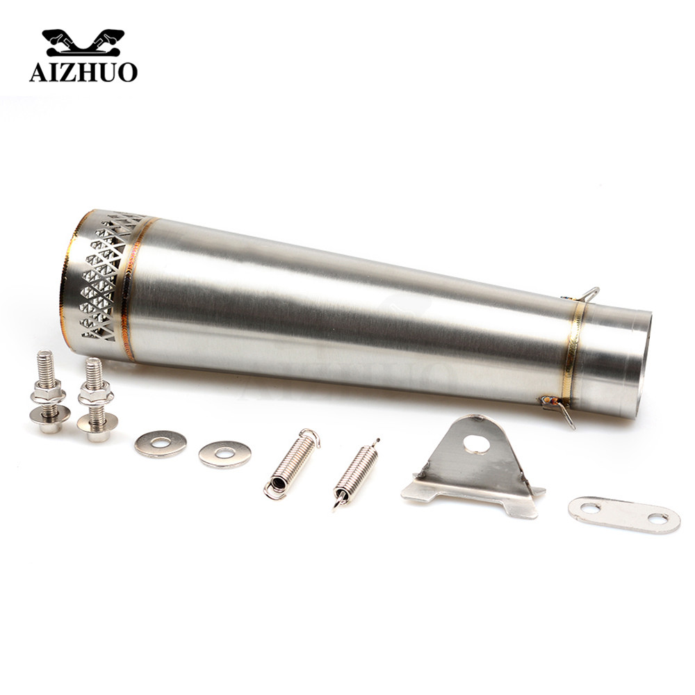 36-51MM Motorcycle Universal Exhaust Pipe Muffler FOR yamaha mt07 yz 125 r25 mt 09 tracer R1 2004 2006 2007 2008 2009 2010-2015 motorcycle aluminum cooler radiator for yamaha fz6 fz6n fz6 n fz6s 2006 2007 2008 2009 2010