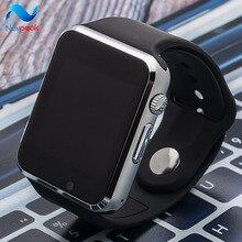Смарт-часы A1 W8 с сим-карты Камера Bluetooth SmartWatch для Android iso Apple Huawei Беспроводные устройства WhatsApp Facebook