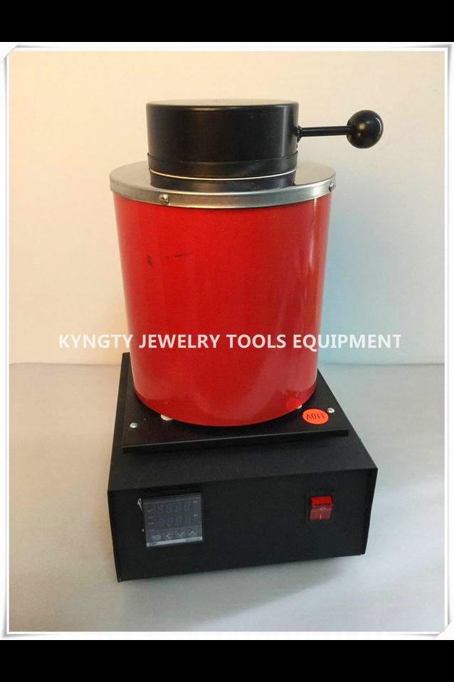 Jewelery Tools 2016 2kg Gold Electric Melting Furnace with extra 1 2kg Graphite Crucible and Plier 220v стоимость