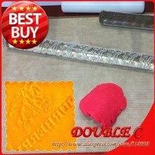 12 165mm Burberry Design Fondant Acrylic Rolling Pins Famous Brand Fondant Printer Fondant Tools