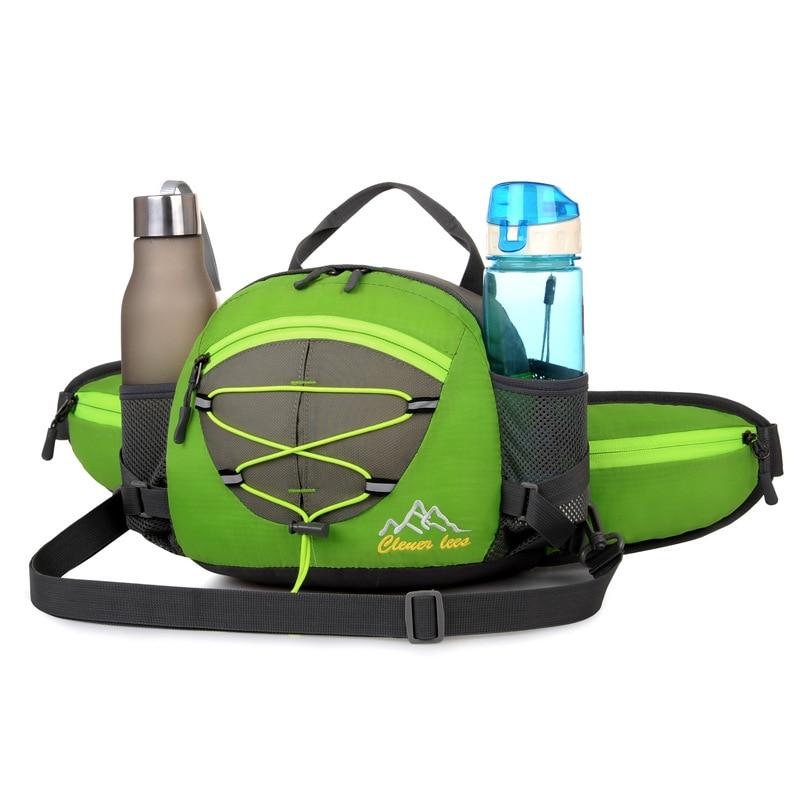 2017 backpack New Fashion Waist Packs Men Waterproof Nylon Belt Bag Men And Women WaistBag Free Shipping L29