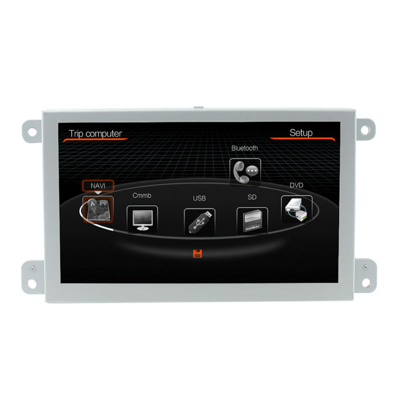 free shipping 7 inch car dvd gps navigation multimedia player head unit for audi a6 s6 q7 2004. Black Bedroom Furniture Sets. Home Design Ideas