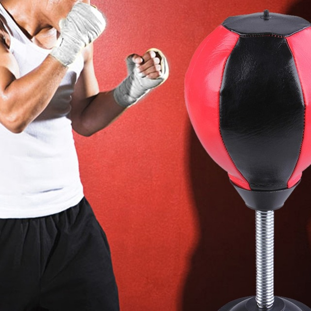 Captivating Home And Office Gym Desktop Speed Ball Fitness Equipment Boxing Ball Boxing Punching  Bag Boxing Pear