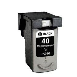 1 sztuk PG40 kompatybilny tusz kartridż do canona PG 40 40xl PIXMA iP1600 iP1200 iP1900 MP140 MP150 MX300 MX310 MP160 drukarki