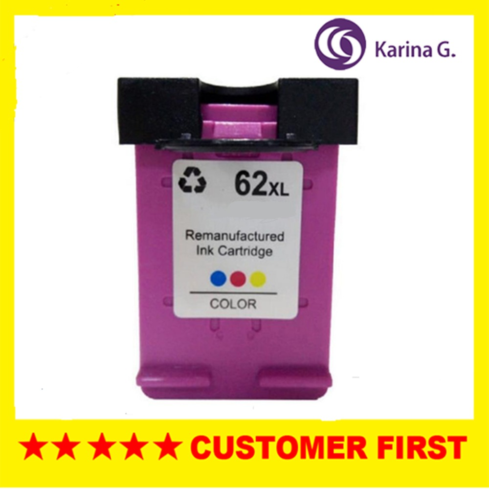 1PK For HP62 Ink Cartridge For HP 62 For HP Envy 5640 5660 7640 5540 5544