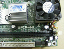 Motherboard For EPIA-ML EPIA ML8000 17*17 MINI-ITX For POS Machine Original 95%New Well Tested Working One Year Warranty