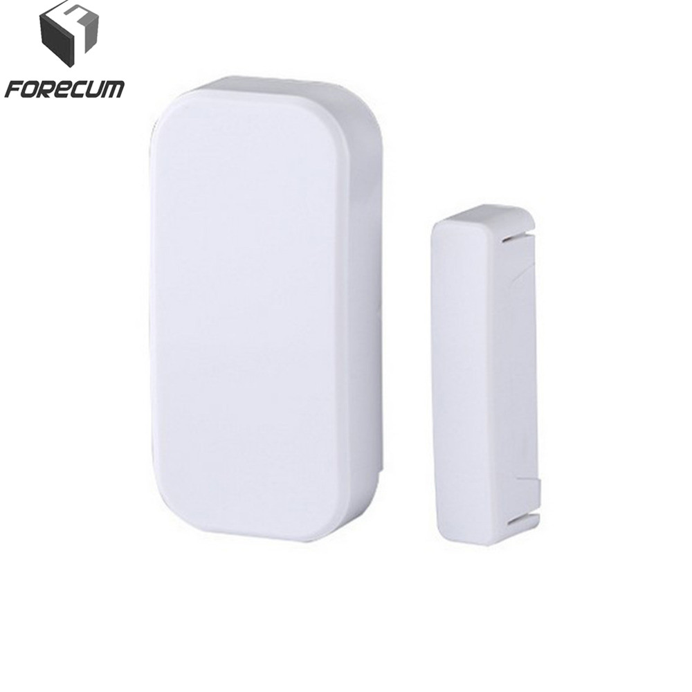 FORECUM 433MHz Wireless Door Sensor Alarm Window Door Entry Anti Thief Detector Sensor For Wireless Home Security Alarm System wireless multi function door sensor magnetic window detector for security alarm system automatic door sensor 433mhz