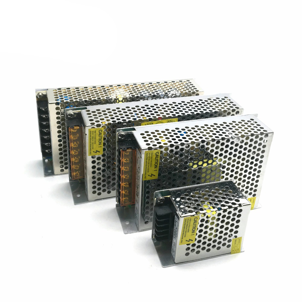 12V Power supply Lighting <font><b>Transformers</b></font> <font><b>LED</b></font> <font><b>Driver</b></font> AC220 to DC12V <font><b>12W</b></font> 24W 60W 120W 200W 240W 360W for <font><b>LED</b></font> Strip/<font><b>LED</b></font> lighting image