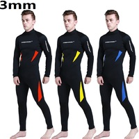 Neoprene 3mm Scuba Dive Wetsuit Men Spearfishing Wet Suit Surfing Diving Swimming Equipment Spear Fishing Jumpsuit