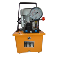 Hydraulic-Pump Electric High-Pressure Double-Acting New with Manual-Valve Pedal CE 220V/380V