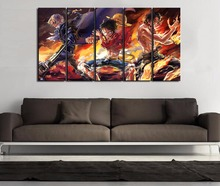 Sabo x Luffy x Ace 5 Piece Canvas Wall Art