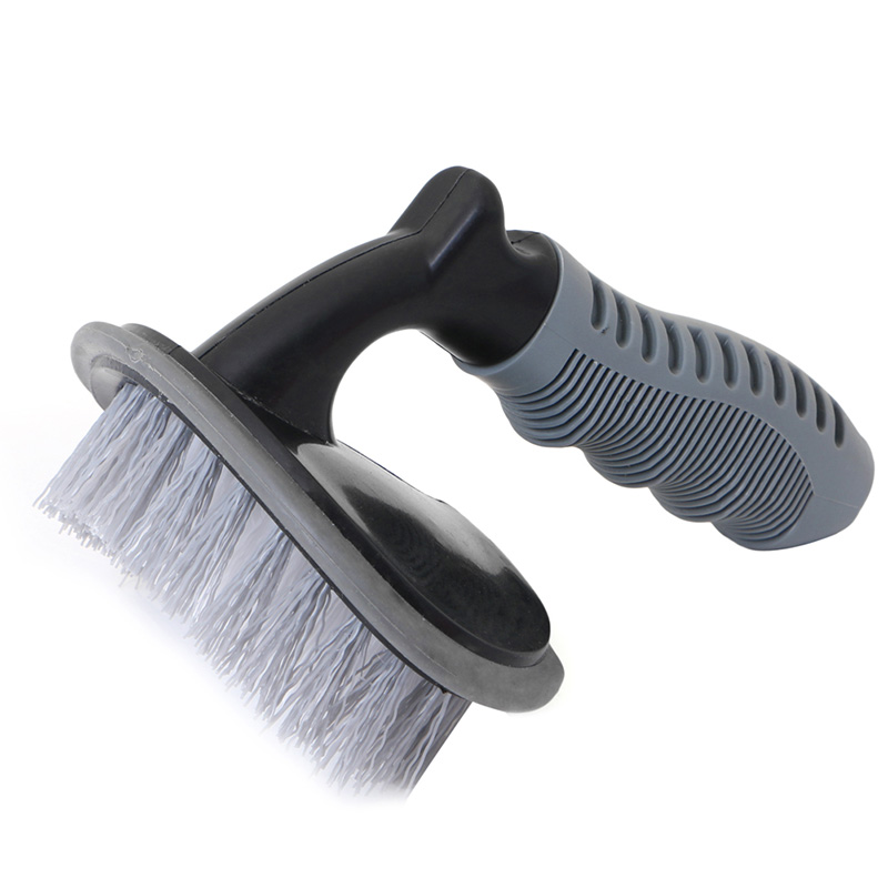 Image 4 - Vehicle Car Wheel Hub Rim Tyre Bend Shank Scrubbing Cleaning Brush Cleaner Car Wash Brushes Auto Maintenance-in Sponges, Cloths & Brushes from Automobiles & Motorcycles