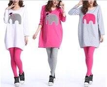 Long Sleeve Maternity Nursing Tops Pregnancy Breastfeeding Tees Shirt Clothes for Pregnant Women Wear Feedding Clothing B163